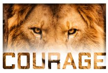 Choose Courage over Comfort